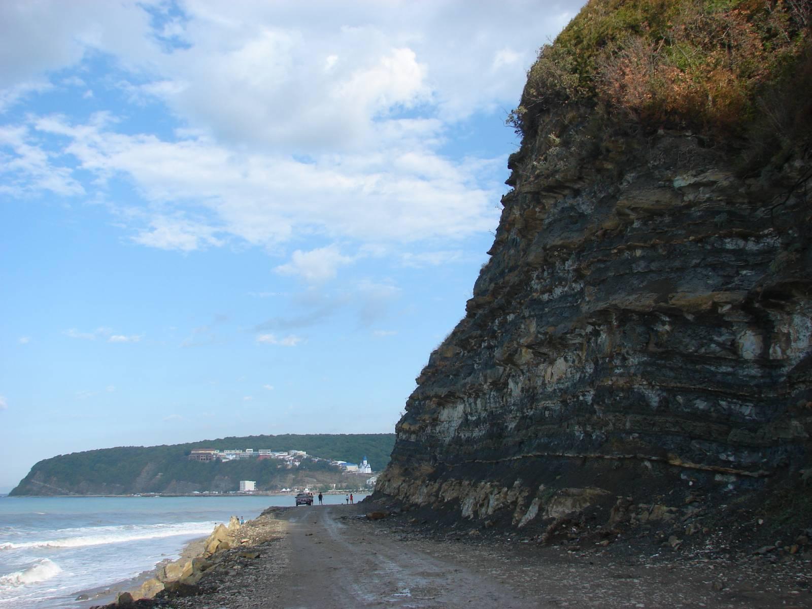 Новомихайловский центральный пляж фото