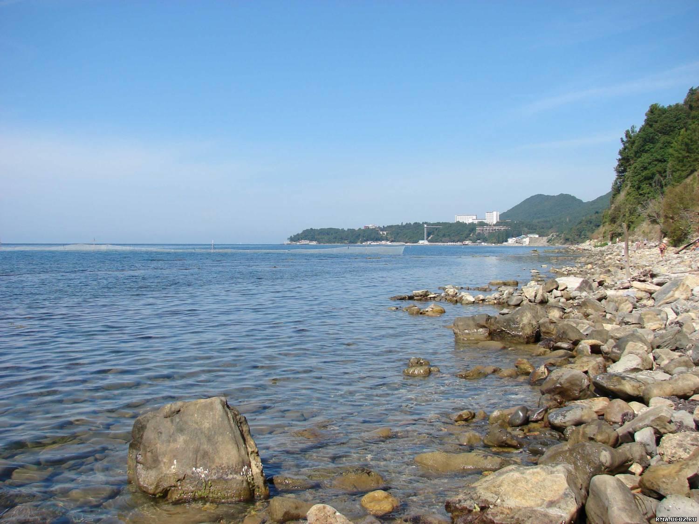 Туапсе небуг фото города и пляжа